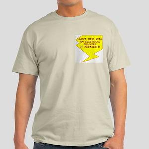 Engineer Bolt Pocket Image Light T-Shirt