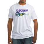 Superrabbi Fitted T-Shirt