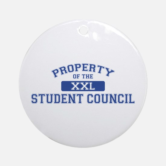 Property Of The Student Council XXL Ornament (Roun