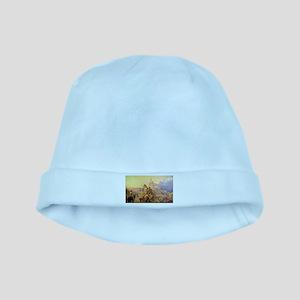 Wagon Train baby hat
