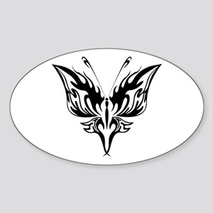BUTTERFLY 71 Oval Sticker