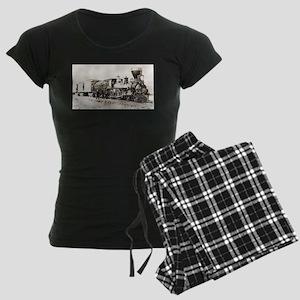 old west trains Pajamas