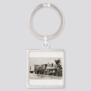 old west trains Keychains