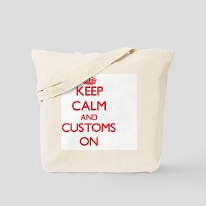 Customs Tote Bag