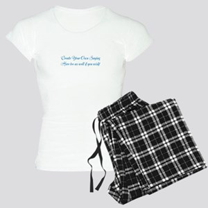 CREATE YOUR OWN GIFT SAYING Women's Light Pajamas