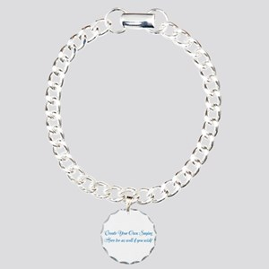 CREATE YOUR OWN GIFT SAY Charm Bracelet, One Charm