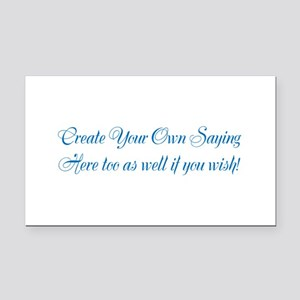 CREATE YOUR OWN GIFT SAYING/M Rectangle Car Magnet