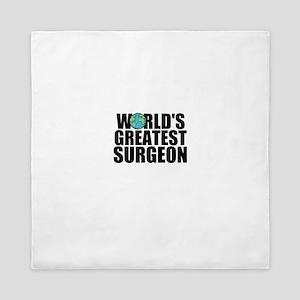 World's Greatest Surgeon Queen Duvet