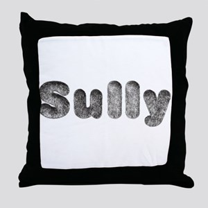 Sully Wolf Throw Pillow