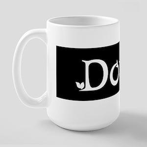 Doula Black Large Mug