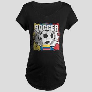 Columbia Soccer Maternity Dark T-Shirt