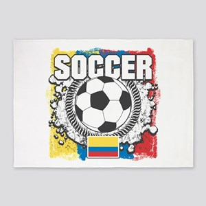 Columbia Soccer 5'x7'Area Rug
