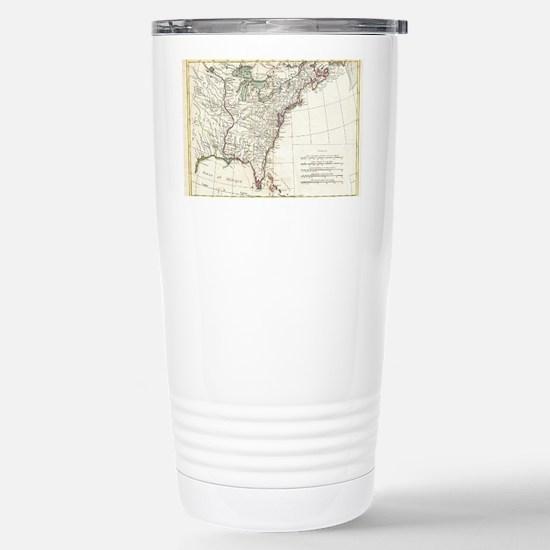 Thirteen Colonies Vinta Stainless Steel Travel Mug