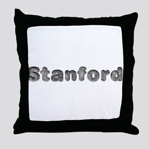 Stanford Wolf Throw Pillow