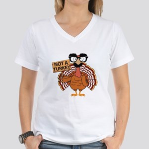 Funny Thanksgiving Turkey - Not a Turkey T-Shirt