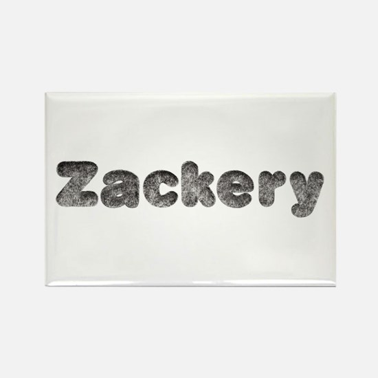Zackery Wolf Rectangle Magnet