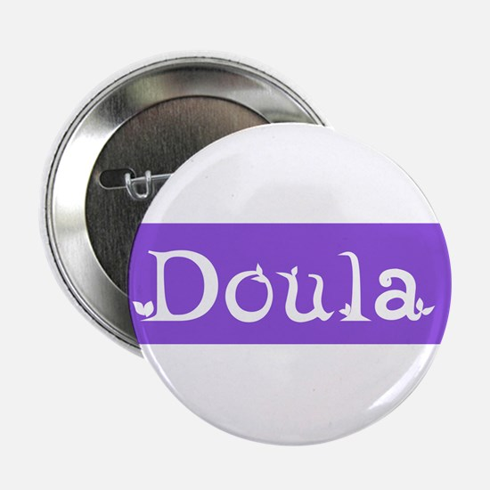 Doula Periwinkle Button