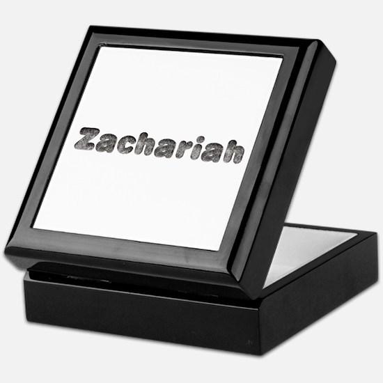 Zachariah Wolf Keepsake Box