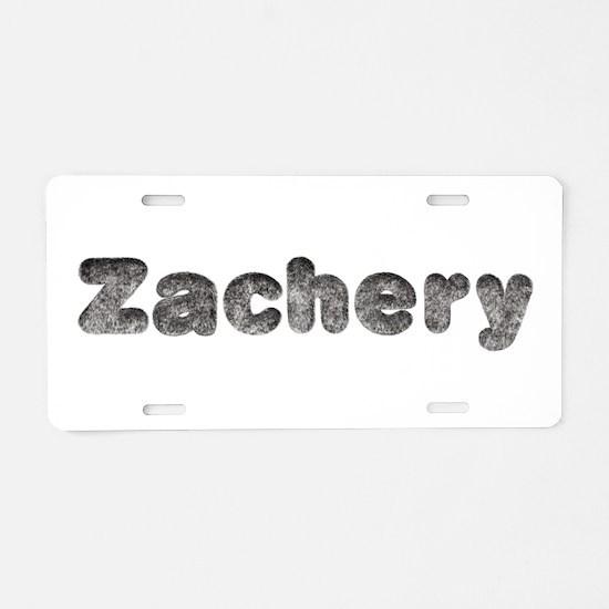 Zachery Wolf Aluminum License Plate