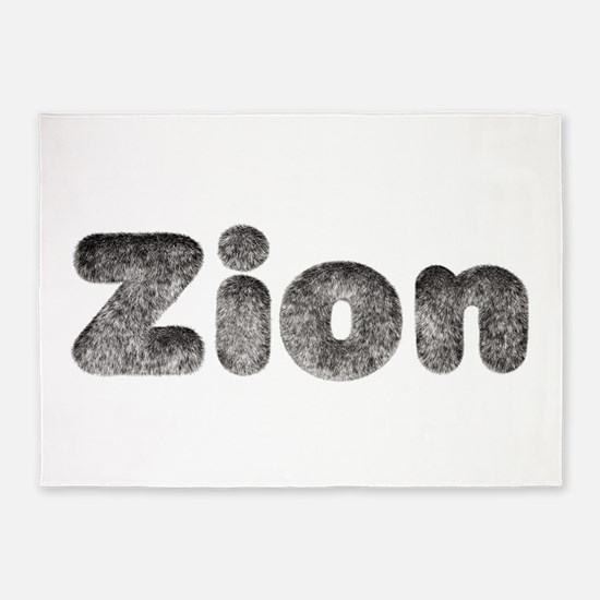 Zion Wolf 5'x7' Area Rug