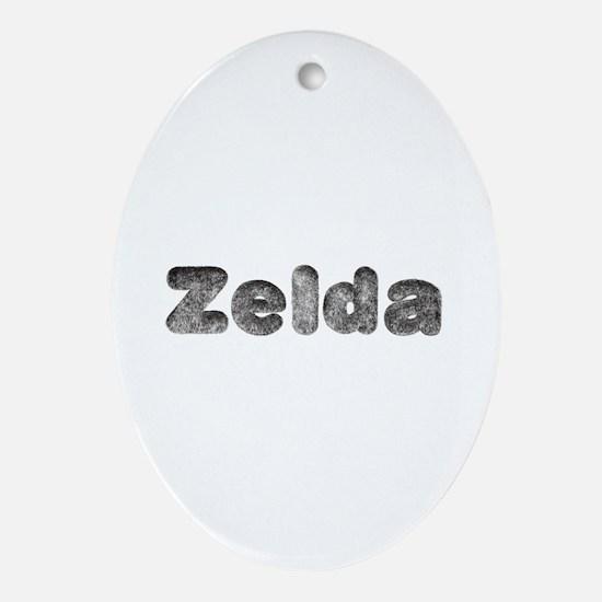 Zelda Wolf Oval Ornament