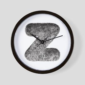 Z Wolf Wall Clock