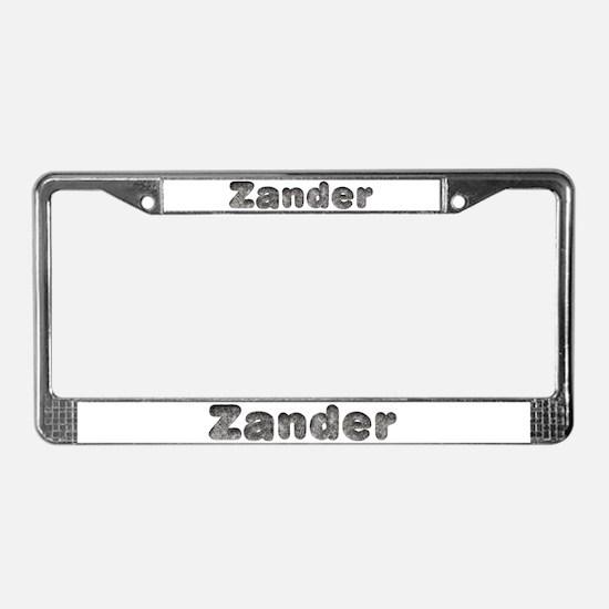 Zander Wolf License Plate Frame
