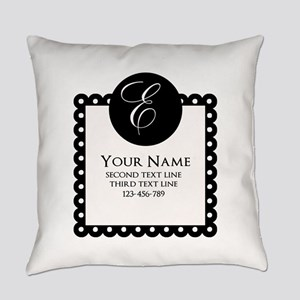 Personalized Texts Everyday Pillow