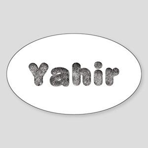Yahir Wolf Oval Sticker