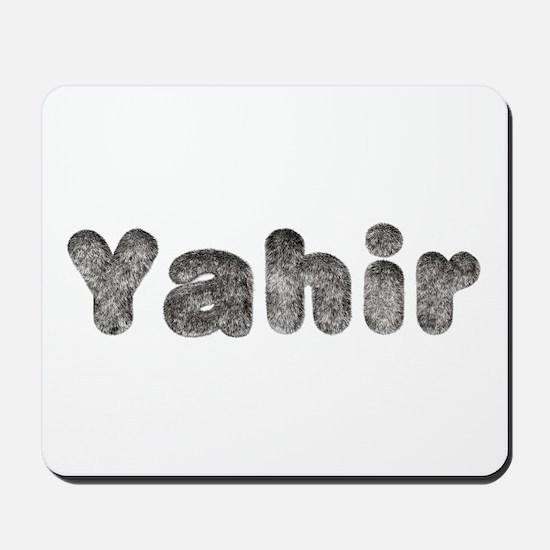 Yahir Wolf Mousepad