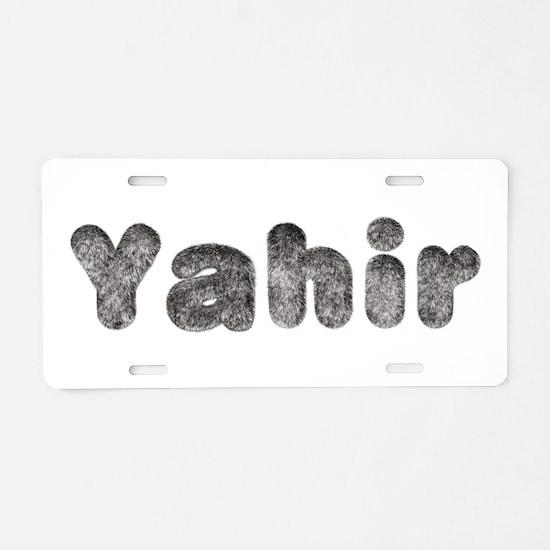 Yahir Wolf Aluminum License Plate