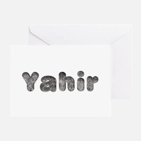 Yahir Wolf Greeting Card