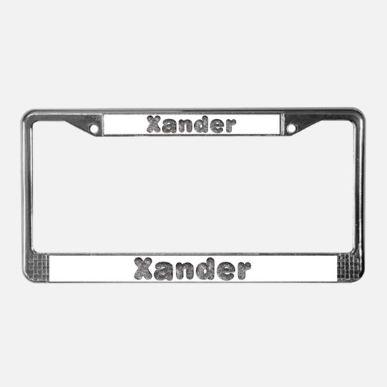 Xander Wolf License Plate Frame