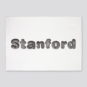 Stanford Wolf 5'x7' Area Rug