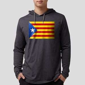 Estelada Blava - Bandera indep Long Sleeve T-Shirt
