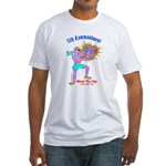 HONOR THY DOG (Bible) Fitted T-Shirt