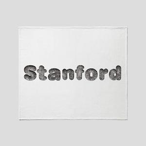 Stanford Wolf Throw Blanket