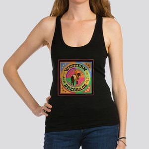 Graphically Equine Western Dressage Racerback Tank