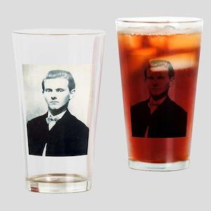 jesse james Drinking Glass
