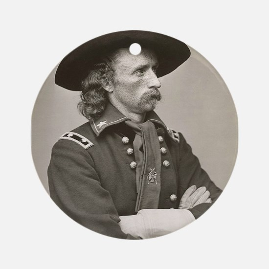 george custer Ornament (Round)