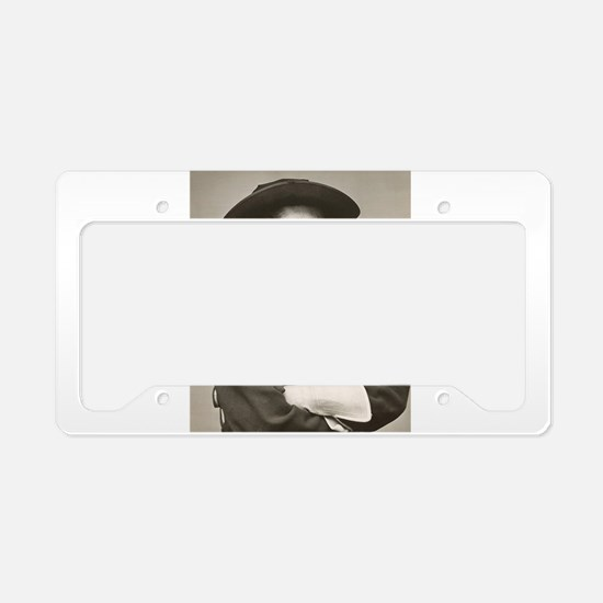 george custer License Plate Holder