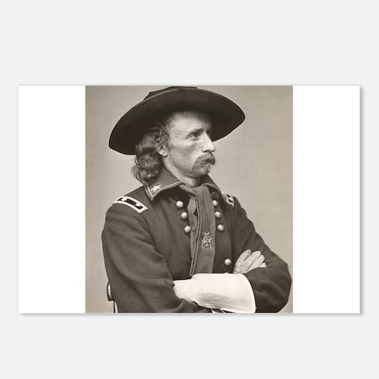 george custer Postcards (Package of 8)