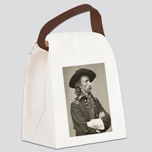 george custer Canvas Lunch Bag
