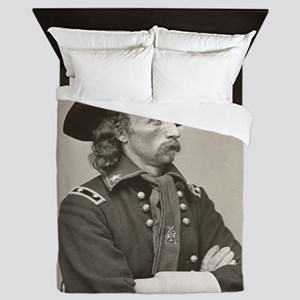 george custer Queen Duvet