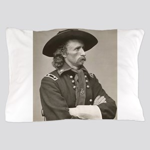 george custer Pillow Case