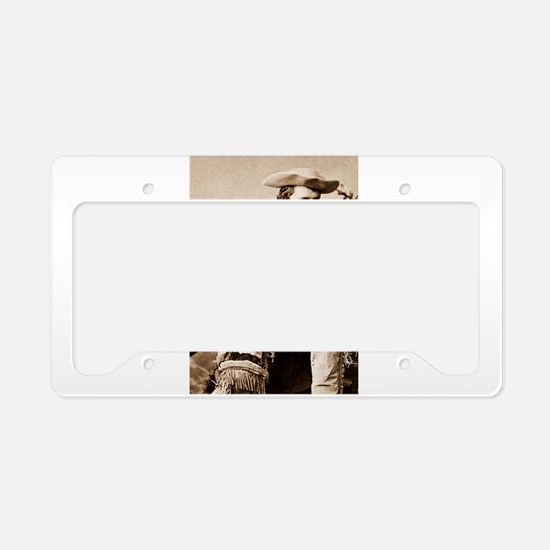 buffalo bill cody License Plate Holder
