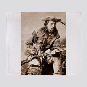 buffalo bill cody Throw Blanket