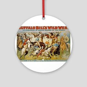 buffalo bill cody Ornament (Round)