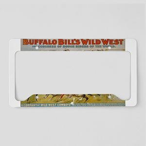 buffalo bill cody License Plate Holder