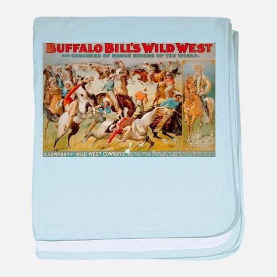buffalo bill cody baby blanket